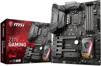 MSI Z370 GAMING M5 Enthusiast Coffee Lake LGA 1151 VR Ready 64GB DDR4 SLI ATX Motherboard(Black)