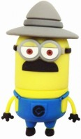 View Microware Hat Shape Cartoon 8 GB Pen Drive(Yellow) Price Online(Microware)