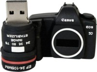 View Microware Camera Shape 16 GB 16 GB Pen Drive(Black) Price Online(Microware)