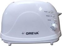 OREVA OPT-709 700 W Pop Up Toaster(White)