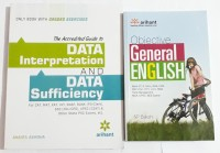 Data Interpretation Data Sufficiency + Objective General English (Pack Of 2)(Paperback, ANANTA ASHISHA, SP BAKSHI)