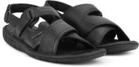 Hush Puppies Men Black Sandals