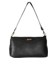 Bern Women Black PU Sling Bag