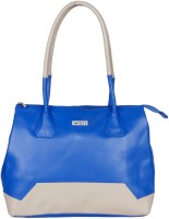 Bern Women Blue, Beige PU Hand-held Bag