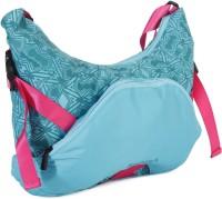 Fastrack Women Blue PU Sling Bag