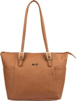 Bern Women Brown PU Hand-held Bag