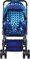 MeeMee Comfortable Pram with 3 seating position(2, Blue)