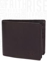Metronaut Men Brown Genuine Leather Wallet(8 Card Slots)