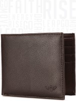 Metronaut Men Brown Artificial Leather Wallet(6 Card Slots)