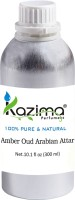 KAZIMA Amber Oud Arabian Perfume For Unisex - Pure Natural (Non-Alcoholic) Floral Attar(Floral)