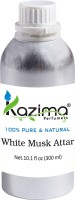 KAZIMA White Musk Perfume For Unisex - Pure Natural (Non-Alcoholic) Floral Attar(Musk)