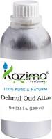 KAZIMA Dehnul Oud Perfume - Pure Natural Undiluted (Non-Alcoholic) Floral Attar(Dehn el oud)