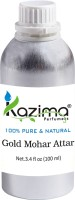 KAZIMA Gold Mohar Perfume For Unisex - Pure Natural (Non-Alcoholic) Floral Attar(Floral)