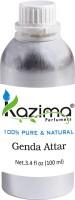 KAZIMA Genda Perfume For Unisex - Pure Natural (Non-Alcoholic) Floral Attar(Genda/Merigold)