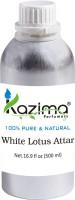KAZIMA White Lotus Perfume For Unisex - Pure Natural Undiluted Floral Attar(White Lotus)