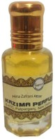 KAZIMA Hina Zafrani Perfume For Unisex - Pure Natural (Non-Alcoholic) Floral Attar(Floral)