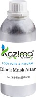 KAZIMA Black Musk Perfume For Unisex - Pure Natural Undiluted (Non-Alcoholic) Floral Attar(Musk)