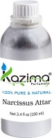KAZIMA Narcissus Perfume For Unisex - Pure Natural (Non-Alcoholic) Floral Attar(Floral)