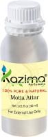 KAZIMA Motia Perfume For Unisex - Pure Natural (Non-Alcoholic) Floral Attar(Floral)
