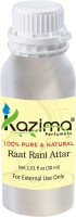 KAZIMA Raat Rani Perfume For Unisex - Pure Natural (Non-Alcoholic) Floral Attar(Floral)