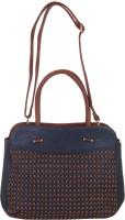 Red Pout Messenger Bag(Blue)