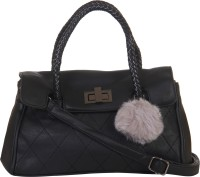 Red Pout Messenger Bag(Black)