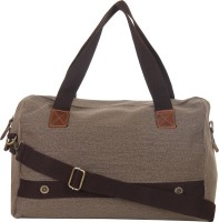 Red Pout Messenger Bag(Grey, Brown)