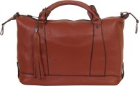 Red Pout Messenger Bag(Brown)