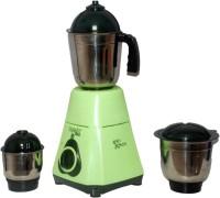 Captain Cook Steel Green-01 550 Mixer Grinder(Green, 3 Jars)