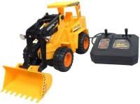 J H Traders WIRED REMOTE CONTROL JCB EARTH MOVER FOR KIDS(Multicolor)