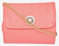 Vdesi Women Pink PU Sling Bag