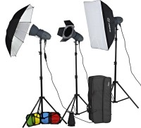 Visico VL 400 PLUS Unique kit Square Softbox(110 cm x 5 cm)