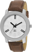 Gesture 201-Silver Bare Basic Modish Watch - For Men