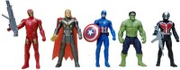 starsky The Team Avengers Set of Five Action Figures (Multicolor)(Multicolor)