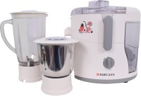 Eurolex Juicer Mixer Grinder 1000 Juicer Mixer Grinder(White, 2 Jars)