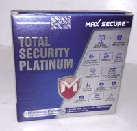 Max Secure Total Security 5.0 User 1 Year(CD/DVD)