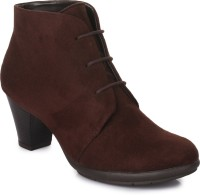 Bruno Manetti AY-102 Boots For Women(Maroon)