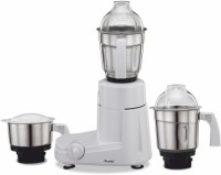 Preethi Eco Chef Neo 500 W Mixer Grinder (3 Jars, White and Blue)