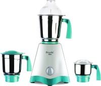 Preethi Elite 600 Mixer Grinder(white/green, 3 Jars)