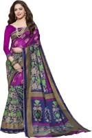 Gugaliya Self Design Fashion Cotton Linen Blend Saree(Multicolor)