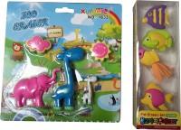 13-HI-13 Animals Eraser Non-Toxic Eraser(Multicolor)