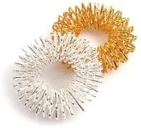 Healthllave Acupressure Finger Ring | Finger Care Massager | 1 Silver |1 Golden - Price 200 83 % Off