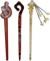 Sanskruti Online combo of juda sticks Bun Stick(Multicolor) - Price 460 77 % Off