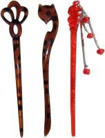 Sanskruti Online combo of juda sticks Bun Stick(Multicolor) - Price 450 77 % Off