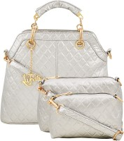 LaFille Hand-held Bag(Silver)