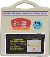 View Maxine CFL HOME UPS - ABS Body With EXIDE Battery - 45w Square Wave Inverter Home Appliances Price Online(Maxine)