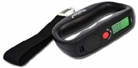 popaji 50kg Electronic LCD Luggage Scale - Belt Type Weighing Scale(Black)