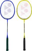 Yonex ZR 100 Blue + Yellow (Set of 2) Blue, Yellow Strung Badminton Racquet(Pack of: 2, 95 g)
