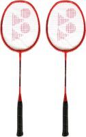 Yonex ZR 100 Orange (Set of 2) Orange Strung Badminton Racquet(Pack of: 2, 95 g)