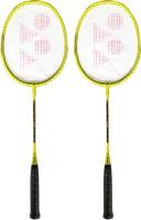 Yonex ZR 100 Yellow (Set of 2) Yellow Strung Badminton Racquet(Pack of: 2, 95 g)